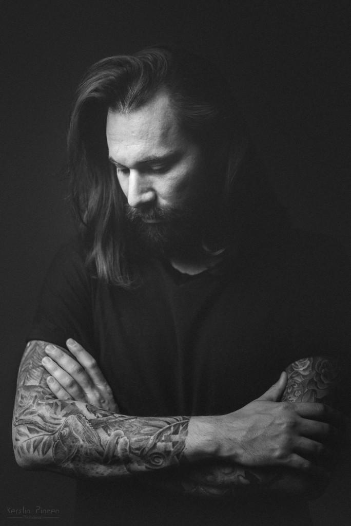Portrait Schwarz Weiß