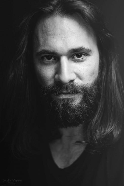 Portrait Schwarz Weiß Workshop Andreas Jorns